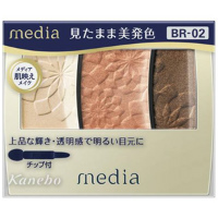 嘉娜宝 media 高品位高透明感眼影(BR-02):3.5g