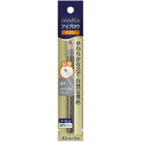 嘉娜宝 media 削皮铅笔式眉笔(GY)自然灰:1.4g