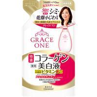 高丝Kose GRACE ONE 药用美白保湿乳液【50代】替换装:200ml