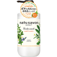 日本高丝kose softymo Natu savon保湿沐浴乳 :500ml