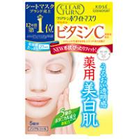 日本高丝Clear Turn美白面膜 (维生素C):5枚