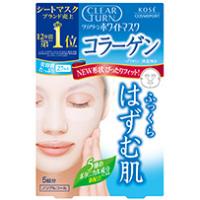 日本高丝Clear Turn美白面膜 (胶原蛋白):5枚