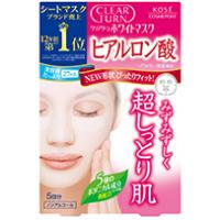日本高丝Clear Turn美白面膜 (玻尿酸):5枚