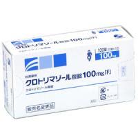 Clotrimazole克霉唑阴道片100mg「F」:100片