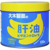 大木 肝油维生素软糖 香蕉口味:120粒