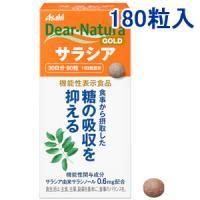 朝日Asahi Dear-Natura五层龙属Salacia抑制糖吸收片剂:180粒(60日分)