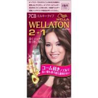 Wellaton 2+1 牛奶系EX染发膏(7CB:明亮自然棕)