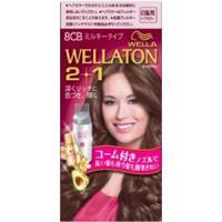 Wellaton 2+1 牛奶系EX染发膏(8CB:更加明亮自然棕)