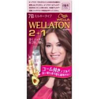 Wellaton 2+1 牛奶系EX染发膏(7B:明亮纯棕色)