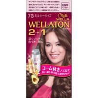 Wellaton 2+1 牛奶系EX染发膏(7G:明亮暖棕)