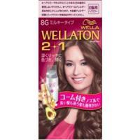 Wellaton 2+1 牛奶系EX染发膏(8G:更加明亮暖棕)