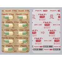 Acardi capsules 2.5 : 50 capsules