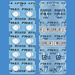 Actos Tablets 15 : 20 tablets