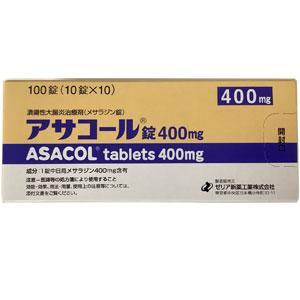 ASACOL tablets 400mg : 100 tablets