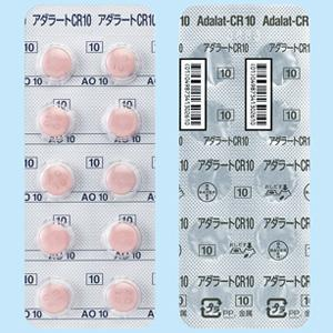 Adalat-CR Tablets 10mg : 100 tablets