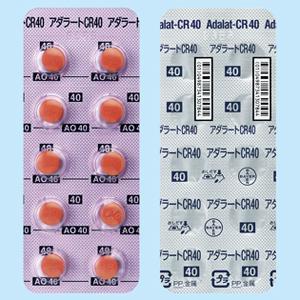 Adalat-CR Tablets 40mg : 100 tablets