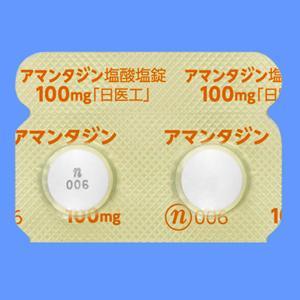 Amantadine Hydrochloride Tablets 100mg Nichi‐Iko : 100 tablets