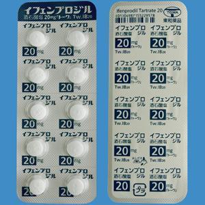 Ifenprodil Tartrate Tablets 20mg TOWA : 100 tablets