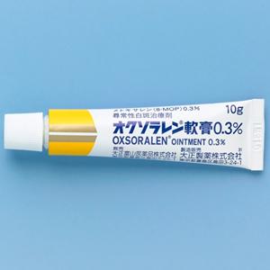Oxsoralen Ointment 0.3% : 10g x 10tubes