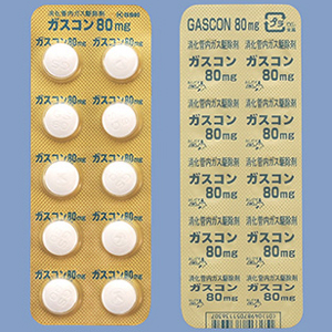 Gascon Tablets 80mg : 100's