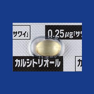 Calcitriol Capsules 0.25μg SAWAI 100Capsules
