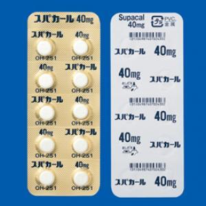 Supacal Tablets40mg : 100tablets