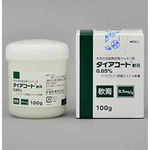 Diacort Ointment 0.05% : 100g