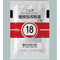 Tsumura Keishikajutsubuto[18] : 42 sachets (for two weeks)