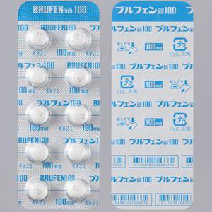 Brufen Tablets 100 : 100tablets