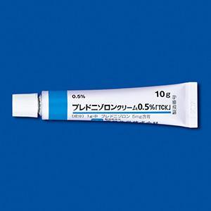 Prednisolone Cream 0.5% TATSUMI : 10g x 5tubes