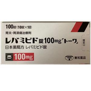 Rebamipide Tablets 100mg TOWA : 100 tablets