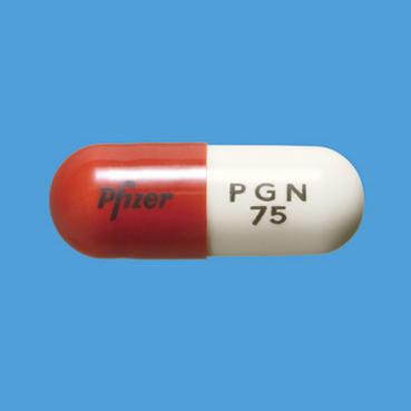 LYRICA Capsules 75mg: 50 capsules