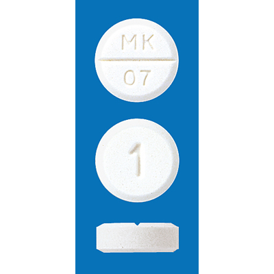 Rilmazafone Hydrochloride Tablets 1 MEEK : 30 tablets