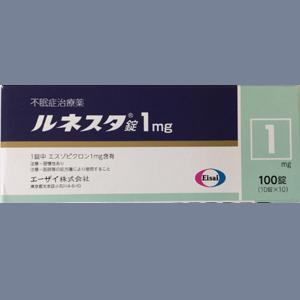 Lunesta Tablets 1mg : 100 tablets