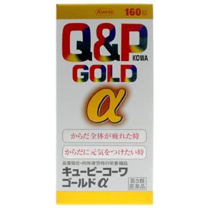 Q & P KOWA GOLD a : 160 tablets