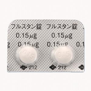 FULSTAN Tab. 0.15: 100 tablets