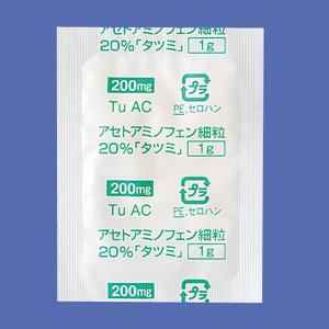 Acetaminophen Fine Granules 20% Tatsumi : 1g x 120 bags