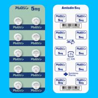 Amlodin Tablets 5mg : 50tablets