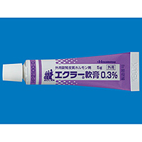 ECLAR Ointment 0.3% : 5g x 10tubes