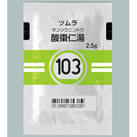 Tsumura Sansoninto[103] : 42 sachetsfor two weeks)