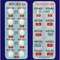 Tenormin Tablets 50 : 100 tablets