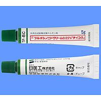Fluocinonide Ointment 0.05% : 5g x 10tubes (Biscosal Cream)