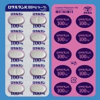LOSARTAN POTASSIUM TABLETS 100mg TOWA : 100 tablets