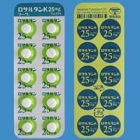 LOSARTAN POTASSIUM TABLETS 25mg TOWA : 100 tablets