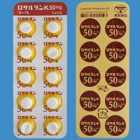LOSARTAN POTASSIUM TABLETS 50mg TOWA : 100 tablets