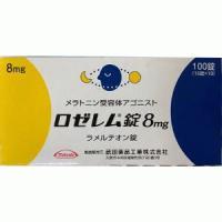 Rozerem Tablets 8mg : 100 tablets