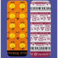 Tiapride Tablets 50mg JG : 100 tablets