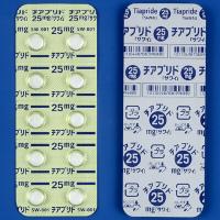 Tiapride Tablets 25mg SAWAI : 100 tablets