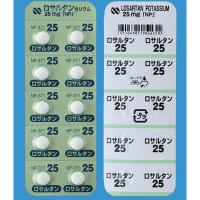 Losartan Potassium Tablets 25mg NP : 100 tablets