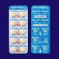 Crestor OD Tablets 5mg : 100 tablets